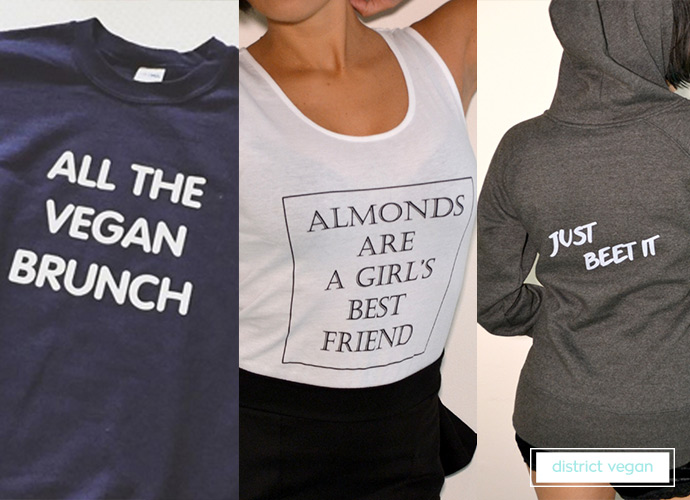 District Vegan - one of our top 10 kickass vegan t-shirt brands!