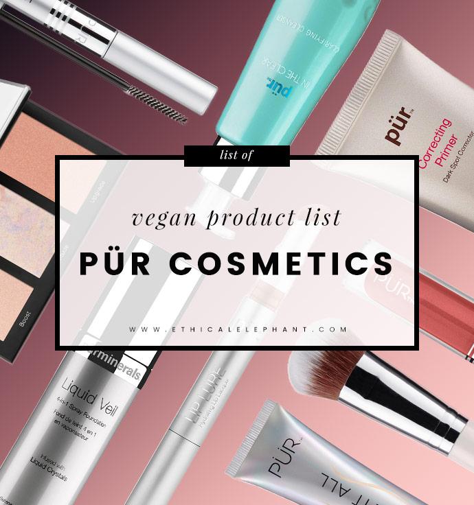 PÜR Cosmetics Vegan Product List