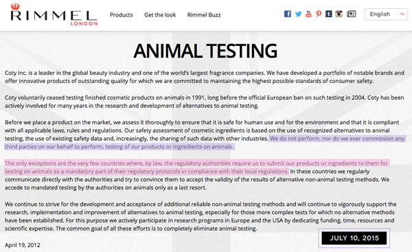 persuasive speech on animal testing for cosmetics Animal testing - persuasive speech  support the use of medical research on animals but they do not support the use of animals for cosmetics to be tested on .