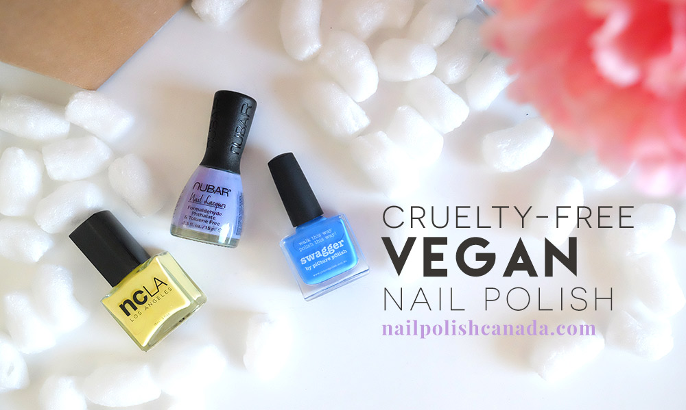 Vegan Options NailPolishCanada.com | ethical elephant