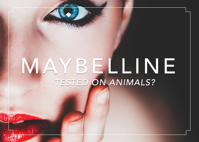 Makeup testing on animals