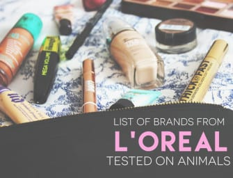 List of L'Oreal Brands that Should be Avoided