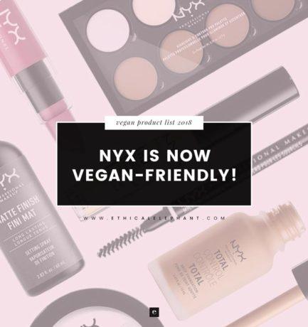NYX Cosmetics Is Now Vegan-Friendly!