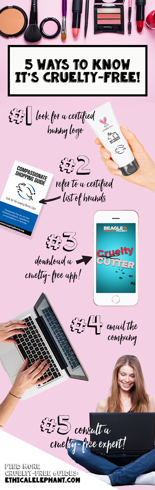 5 Super Simple Ways to Know When Cosmetics are Cruelty-Free!