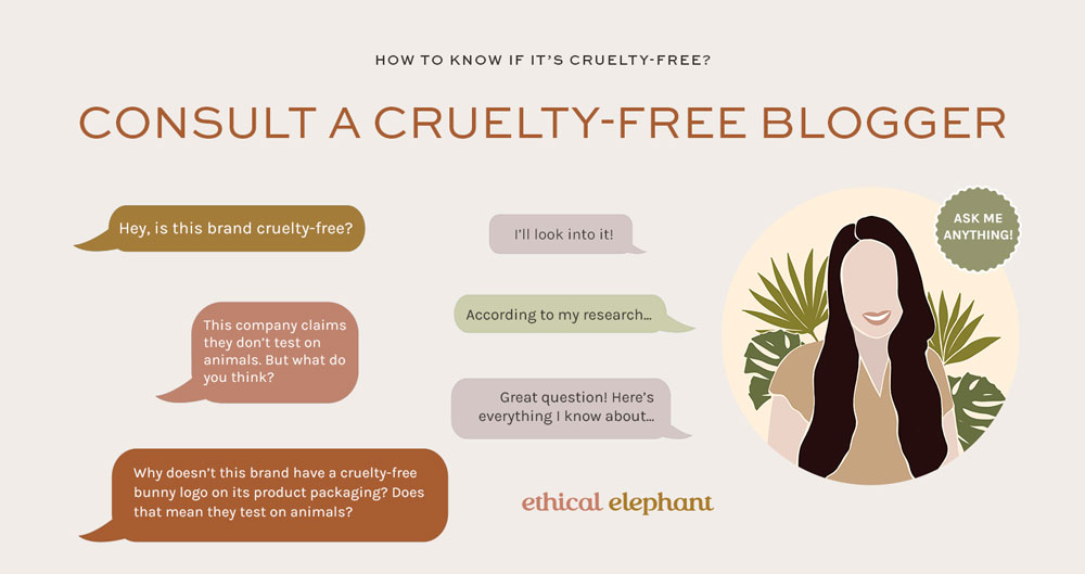 How to know if it's cruelty-free? Consult a cruelty-free blogger.