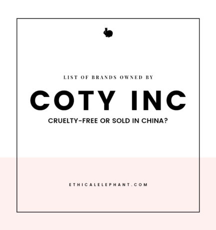 Coty Brands – Which Ones are Cruelty-Free or Sold in China?