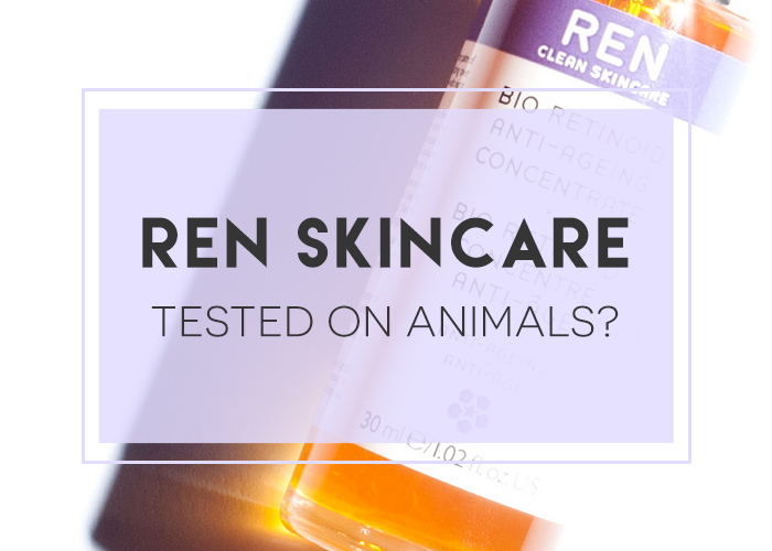 is REN tested on animals?