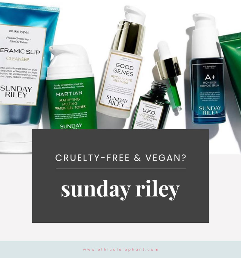 Is Sunday Riley Cruelty-Free?