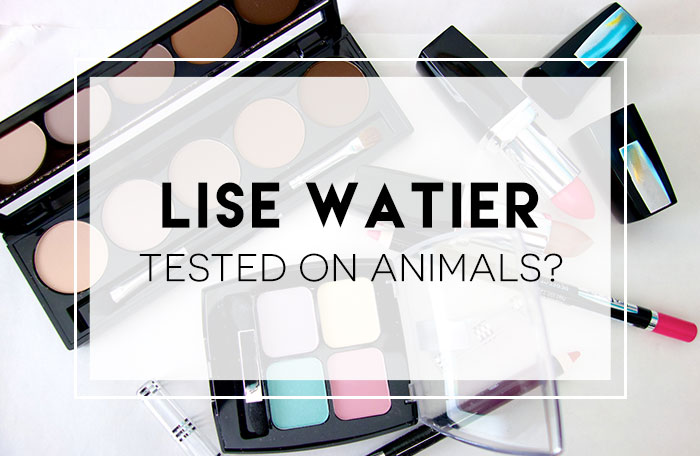 Is Lise Watier Tested On Animals?