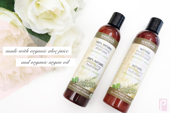 Scentuals natural moisturizing shampoo + conditioner review