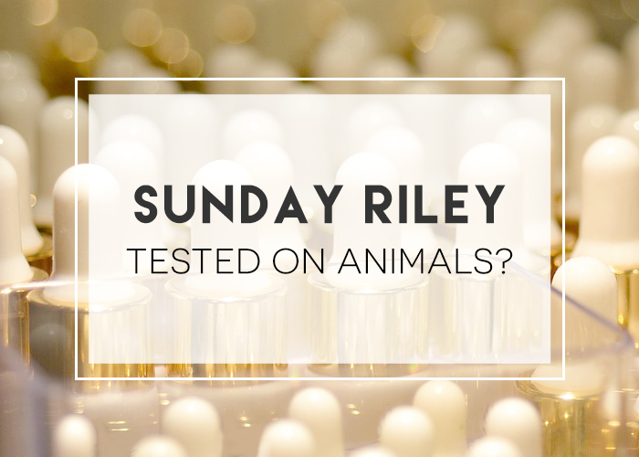 sunday riley animal testing