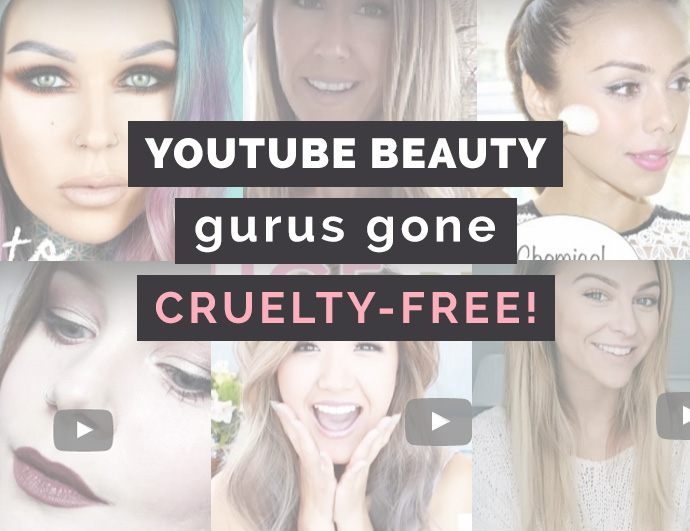 7 Youtubers that have switched over to using and promoting products that are cruelty-free!