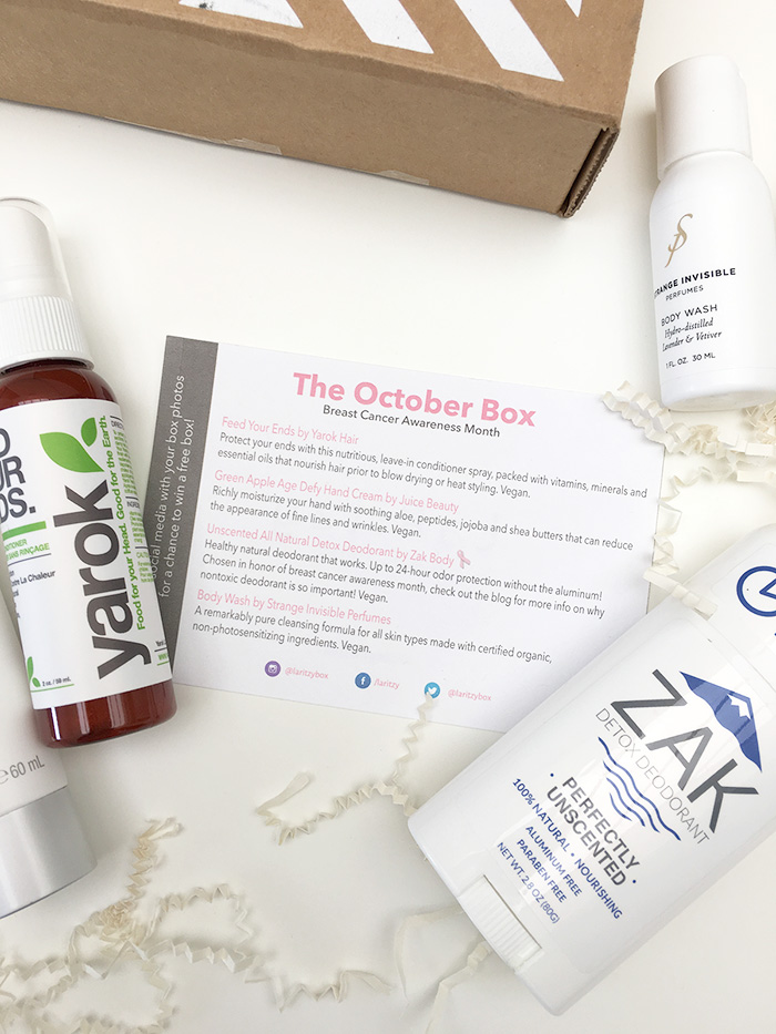 LaRitzy's Cruelty-Free & Vegan October Box Review