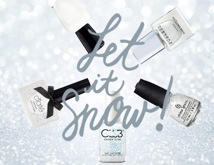 Let It Snow Holiday Vegan + Cruelty-Free Nail Inspiration