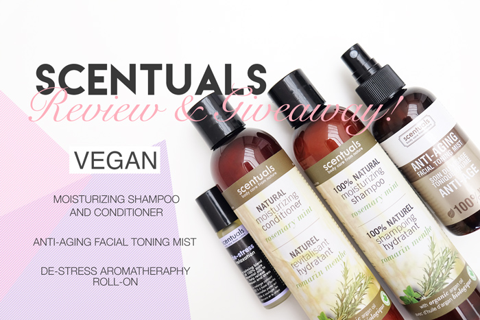 Scentuals Natural Products Review + Giveaway!