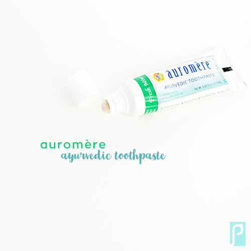auromere ayurvedic vegan toothpaste