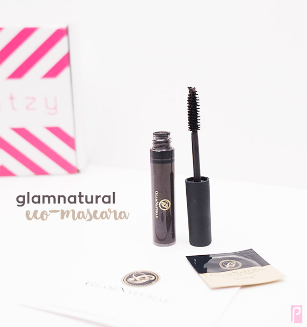 GlamNatural Vegan Eco-Mascara (Brown) - Included in December Vegan LaRitzy Beauty Box