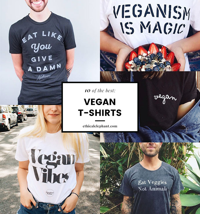 eb7b3332 Regardless of your reasons for being vegan, I've compiled a list of my top  10 vegan t shirt brands that carry some kickass graphic tees with various  ...