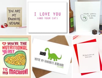 15 Be My Vegan Valentine's Day Cards For That Special Someone