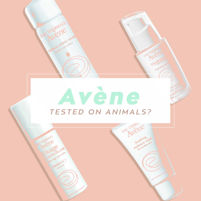 Are Avène products tested on animals?