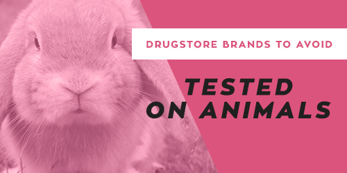 Drugstore brands to avoid that test on animals