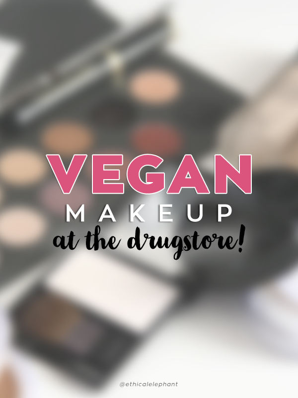Vegan Makeup Options at the Drugstore! all affordable and easily accessible