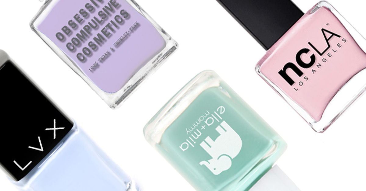 List of 5-Free Vegan and Cruelty-Free Nail Polish Brands
