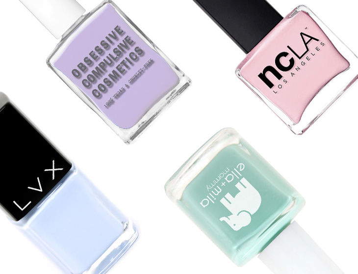List of 5-Free Vegan Nail Polish Brands