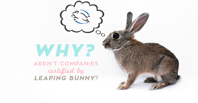 The Leaping Bunny Program is the most trusted cruelty-free certification available but why do companies claim to not get certified?