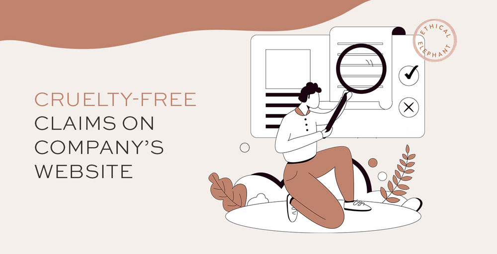 Can we trust cruelty-free claims on a company's website?