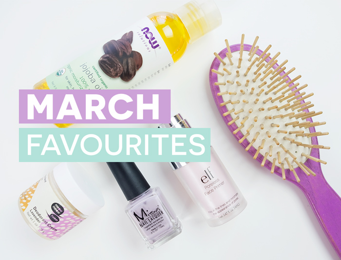 A few cruelty-free and vegan beauty favourites in the month of March!