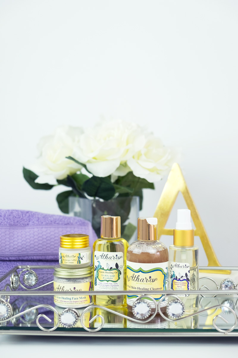 Athar'a Pure Organic, Vegan, and Cruelty-Free Skincare
