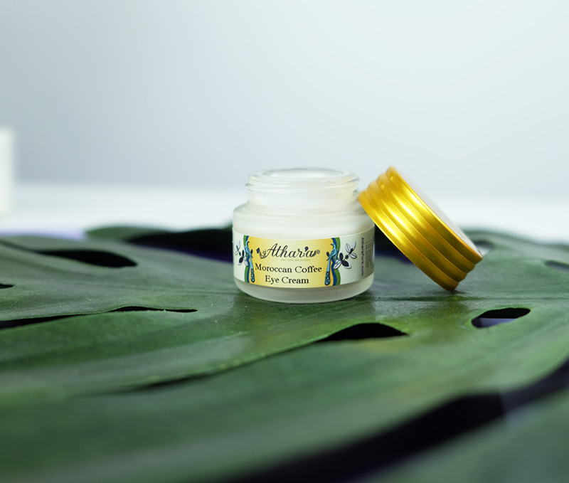 Athar'a Pure Vegan Moroccan Coffee Eye Cream