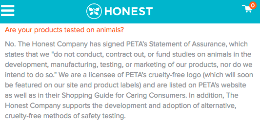 the-honest-company-animal-testing