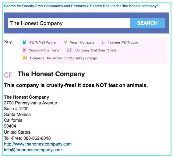 the-honest-company-peta