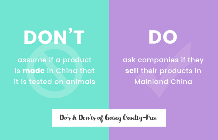 The Do's and Dont's of Going Cruelty-Free