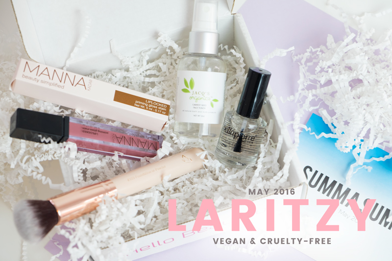What's Inside LaRitzy's May 2016 Vegan Beauty Box?