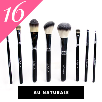 Au Naturale Vegan Makeup Brushes
