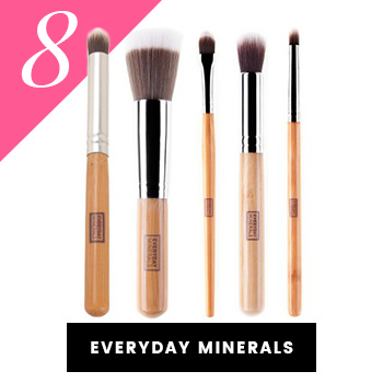 Everyday Minerals Vegan Makeup Brushes