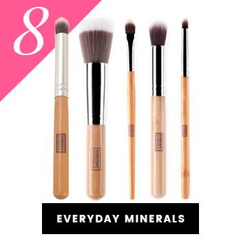 Everyday Minerals Vegan Makeup Brushes