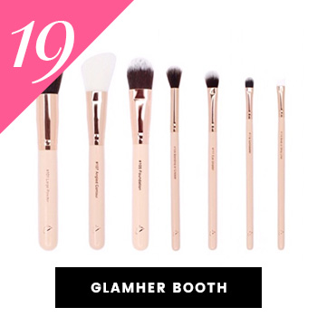 GlamHer Vegan Makeup Brushes