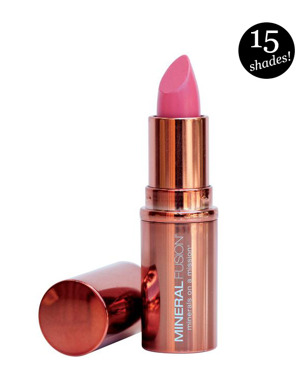 Mineral Fusion Vegan Lipsticks