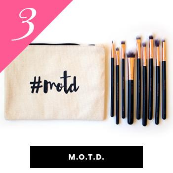 MOTD Vegan Makeup Brushes