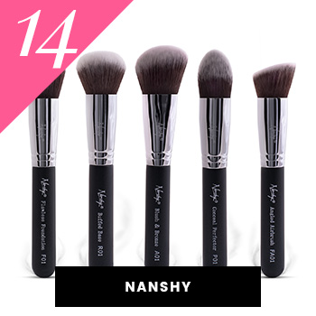 Nanshy Vegan Makeup Brushes
