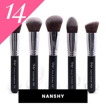 Nanshy Vegan Makeup Brushes