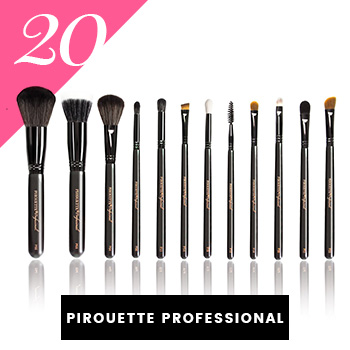 Pirouette Professional Vegan Makeup Brushes