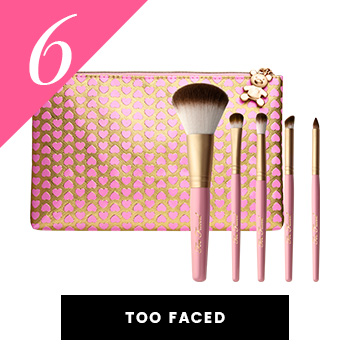 Too Faced Vegan Makeup Brushes