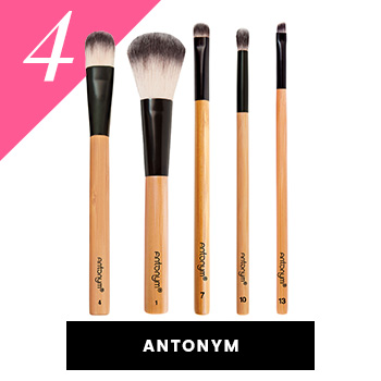 Antonym Vegan Makeup Brushes