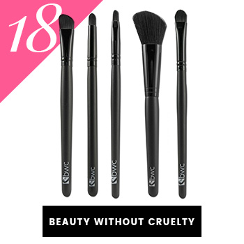 Beauty Without Cruelty Vegan Makeup Brushes