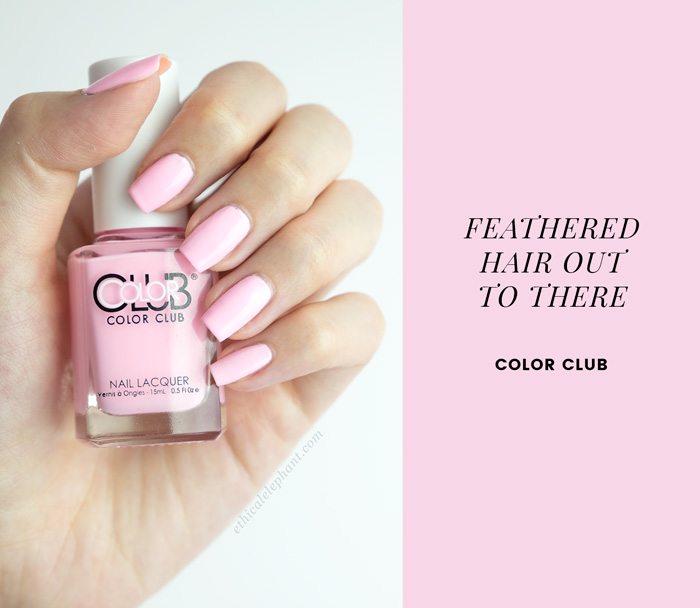 Feathered Hair Out To There by Color Club Nail Polish